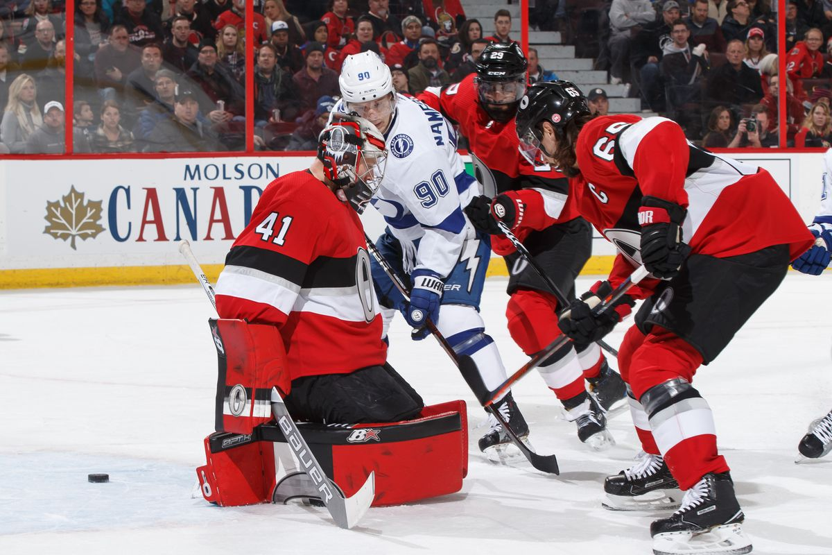 Tampa Bay Lightning v Ottawa Senators