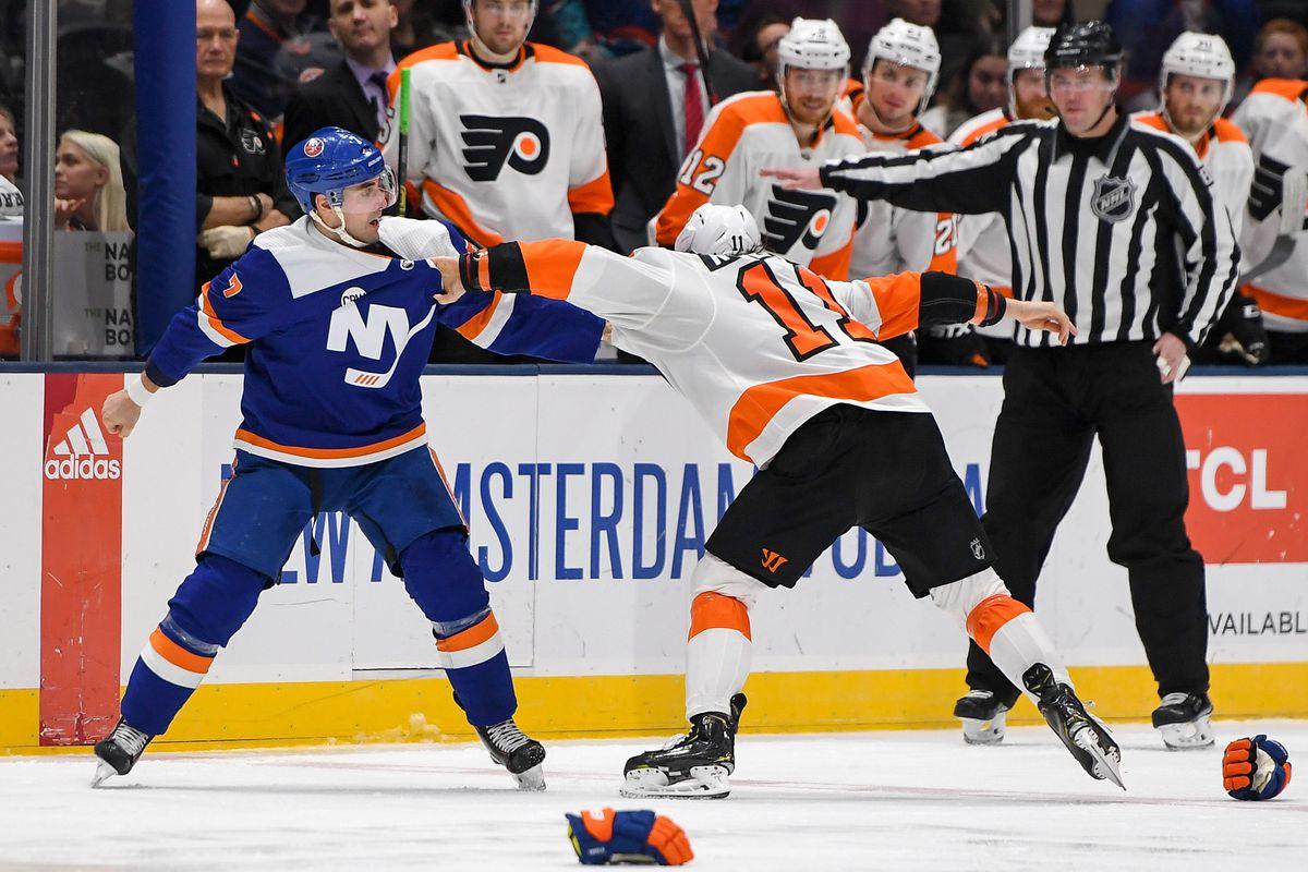 bb5ce07c044 Flyers vs. Islanders recap, score, stats, and analysis - Broad ...