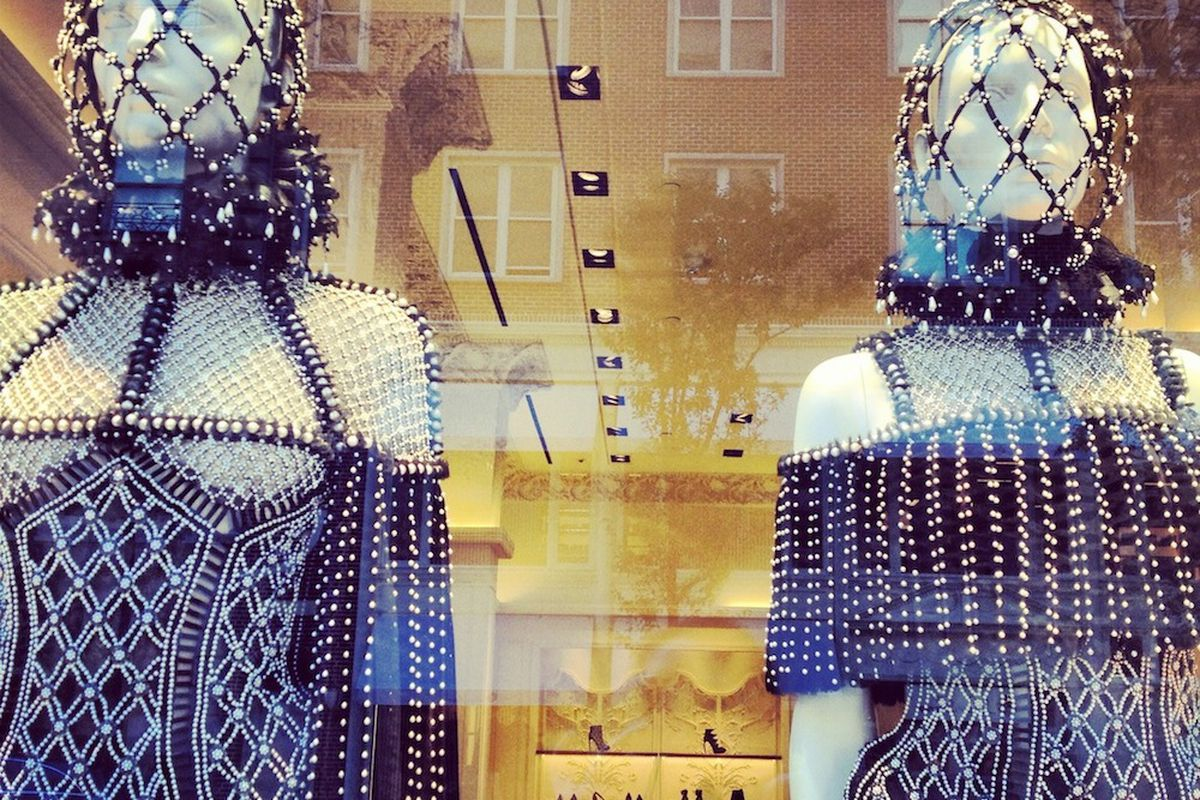 The Alexander McQueen store on Madison Avenue