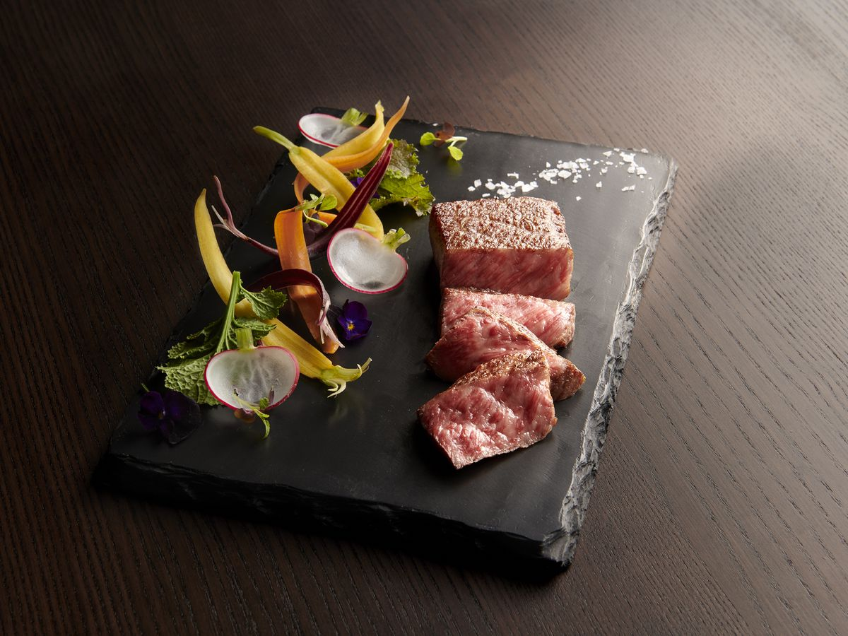 Kobe beef at Vict & Anthony's