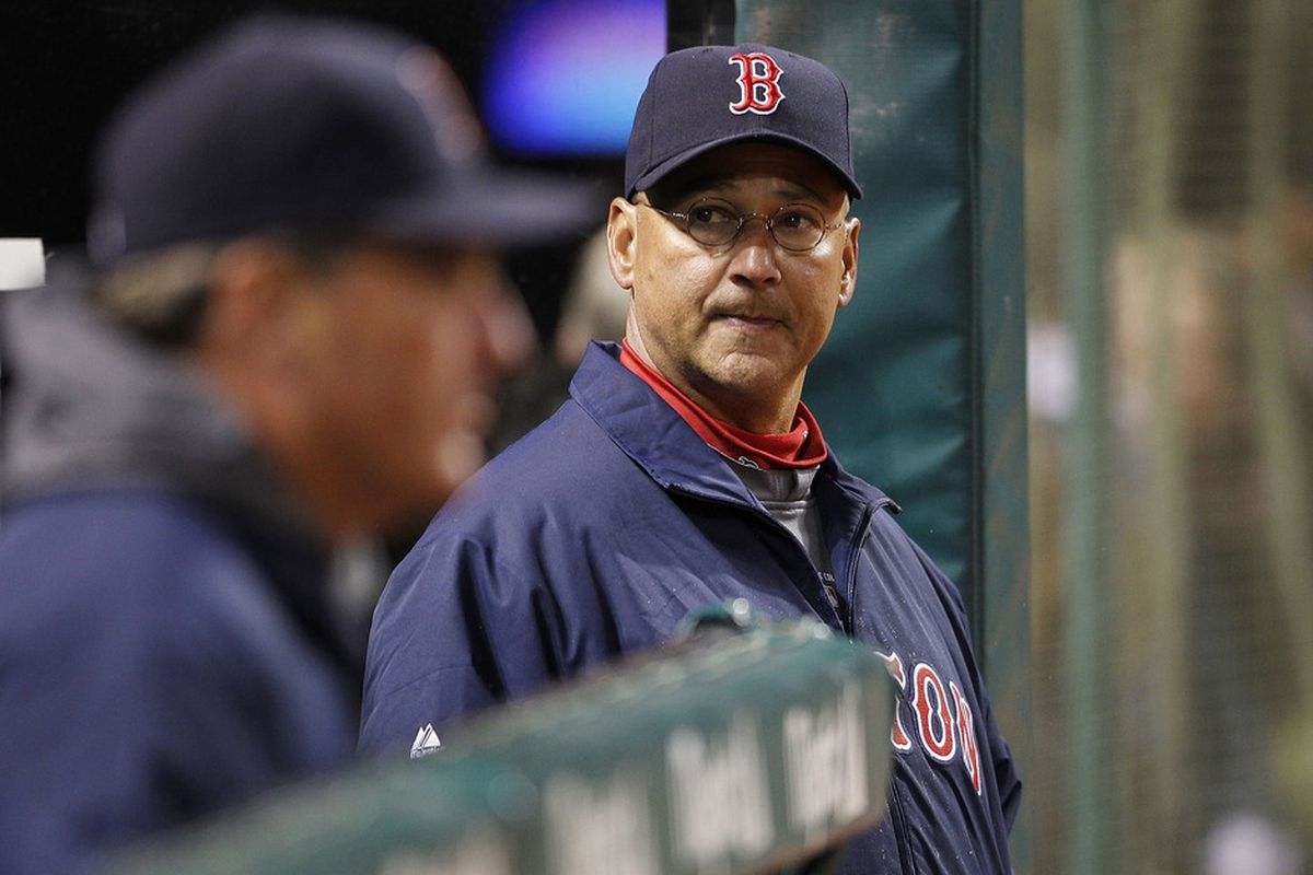 Boston Red Sox manager <strong>Terry Francona</strong> has been stuck looking for answers during the team's 0-6 start   (Photo by Leon Halip/Getty Images)