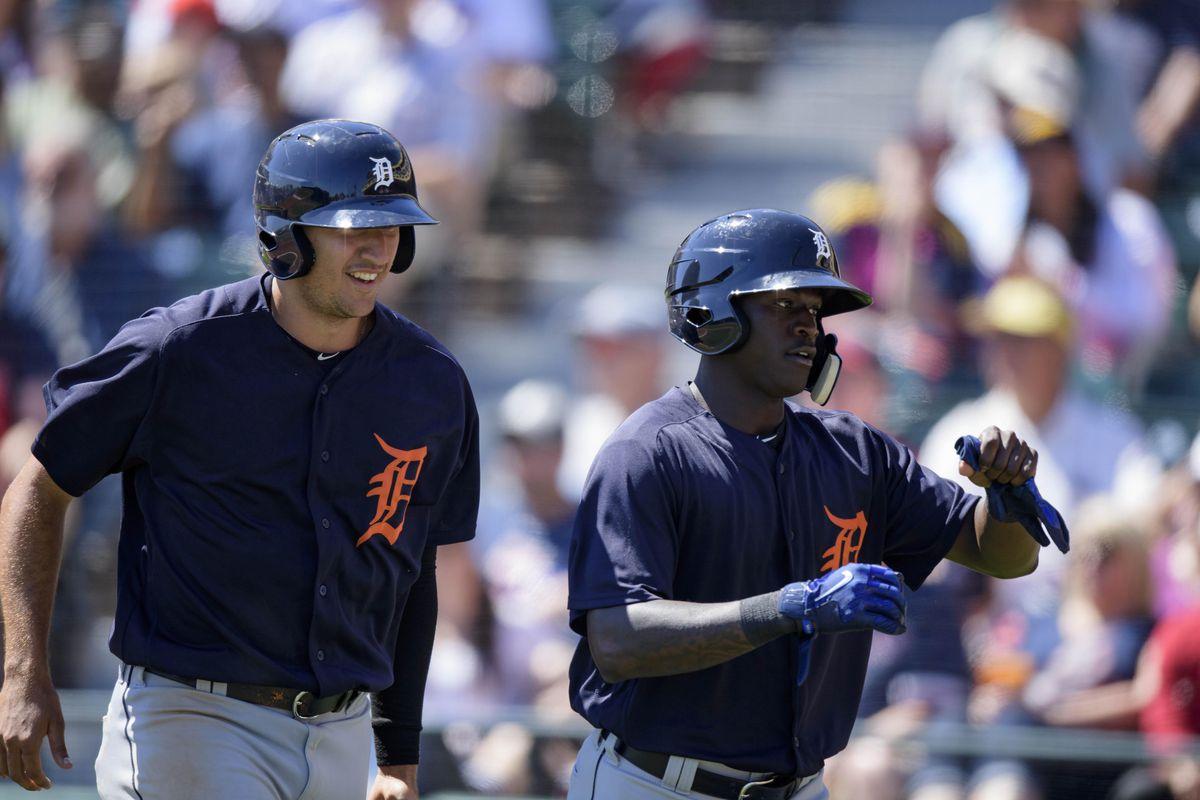 MLB: Spring Training-Detroit Tigers at Atlanta Braves