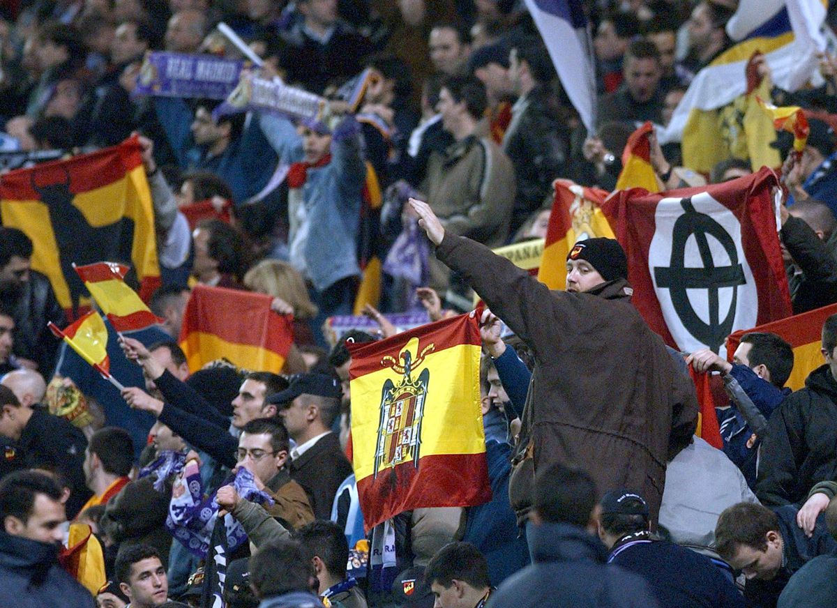 """Real Madrid's ultras supporters called """"Ultra Sur"""""""