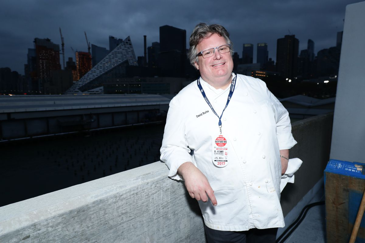David Burke at Food Network & Cooking Channel New York City Wine & Food Festival