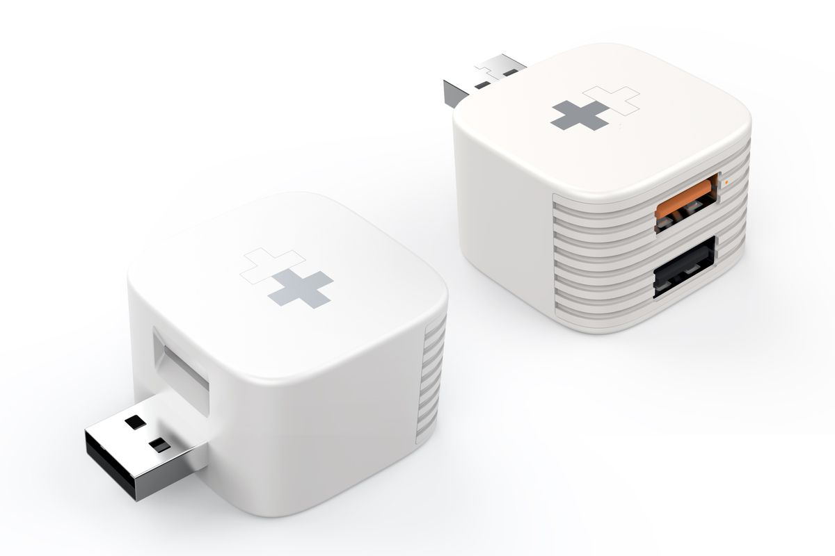 Sanho HyperCube adds USB and microSD storage to your phone