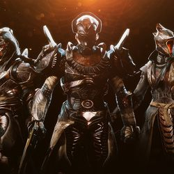 The new Trials of Osiris armor, complete with Sobek shoulders