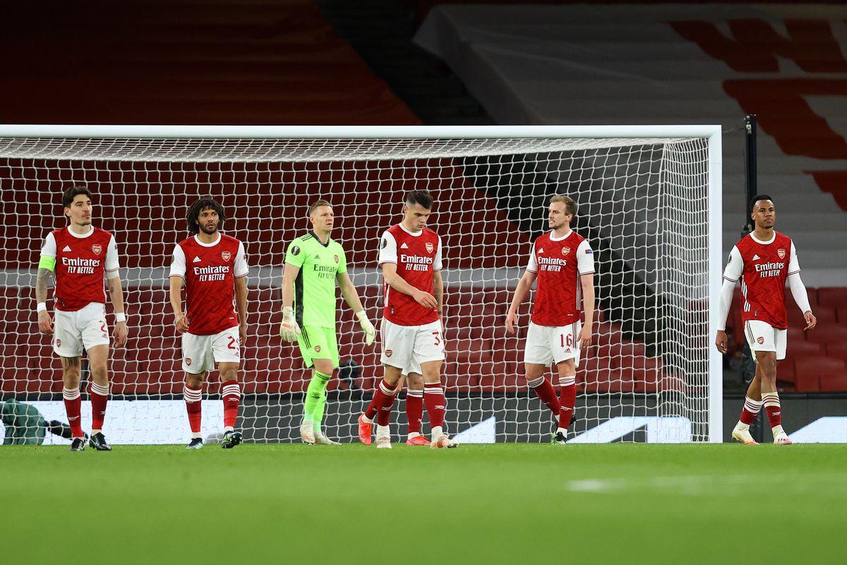 Arsenal FC v Slavia Praha - UEFA Europa League Quarter Final: Leg One