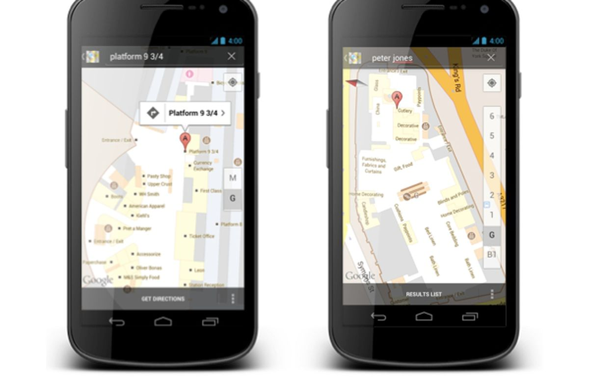 Google launches indoor maps in UK - The Verge on google underwater maps, google holiday maps, google college maps, people on google maps, inside the tardis google maps, google residential maps, google maps tardis location, google mobile maps, google classic maps, creepy things on google maps, google house maps, google office maps, google european maps, google water maps, google camping maps, google digital maps, google road maps, google street maps, google mini maps,