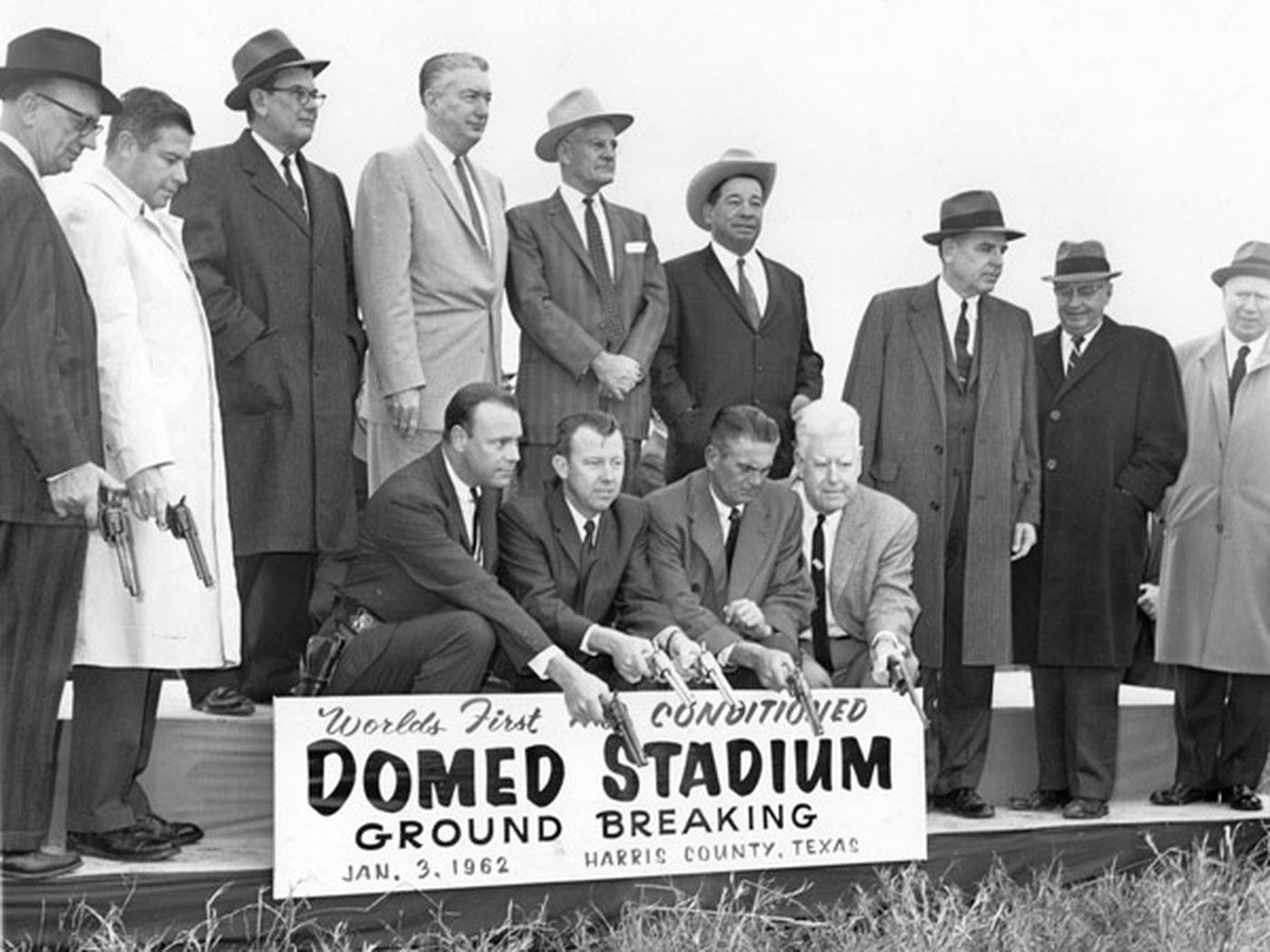 Image result for groundbreaking ceremony astrodome
