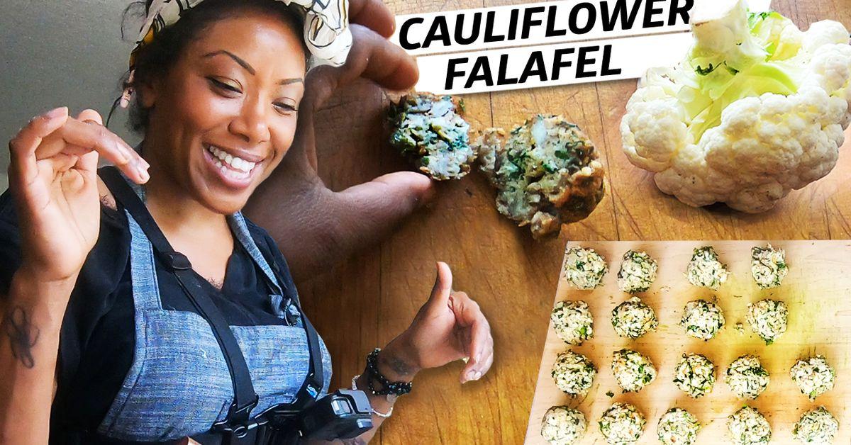 Como fazer Falafel sem grão de bico