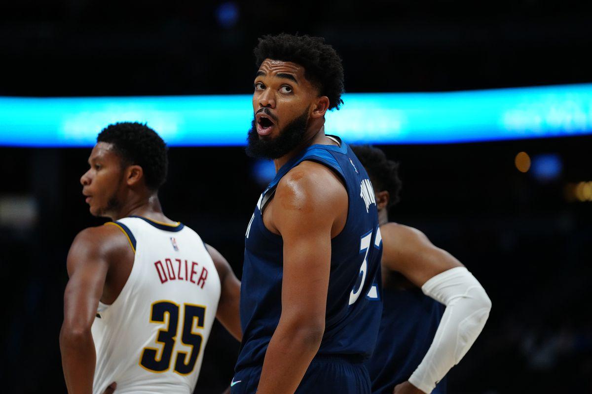 NBA: Preseason-Minnesota Timberwolves at Denver Nuggets