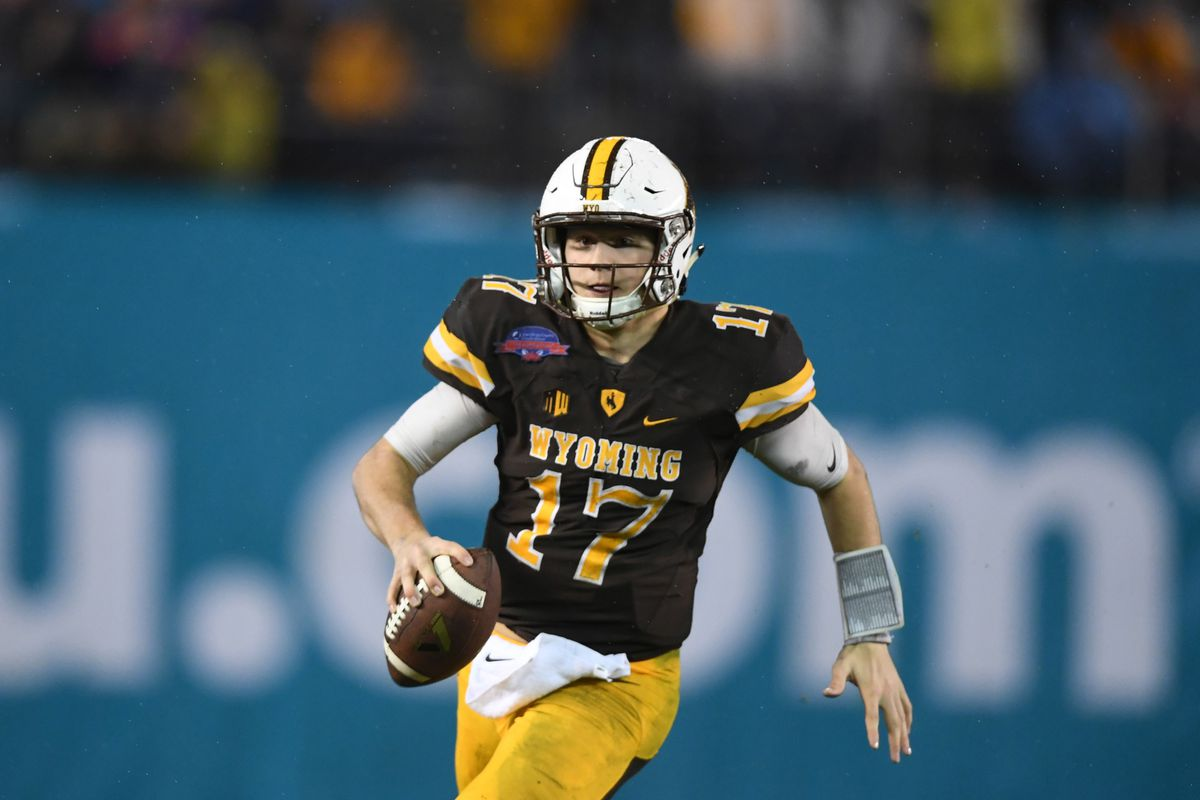 huge discount f584f c2909 Wyoming's Josh Allen invited to the Manning Passing Academy ...