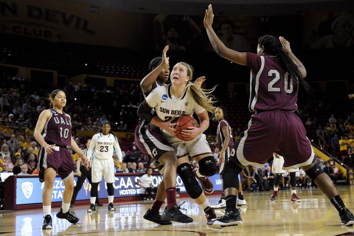 NCAA Womens Basketball: NCAA Tournament-2nd Round-Arizona State vs UALR