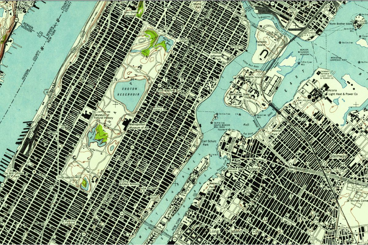 Central Park 1947