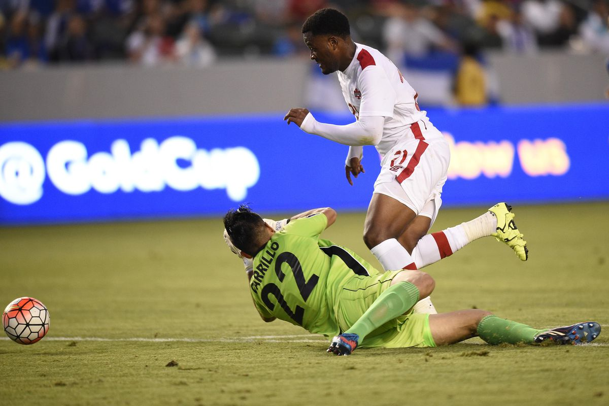 Likely thanks to this miss, Cyle Larin will be rejoining his Orlando City SC teammates sooner than we'd hoped.