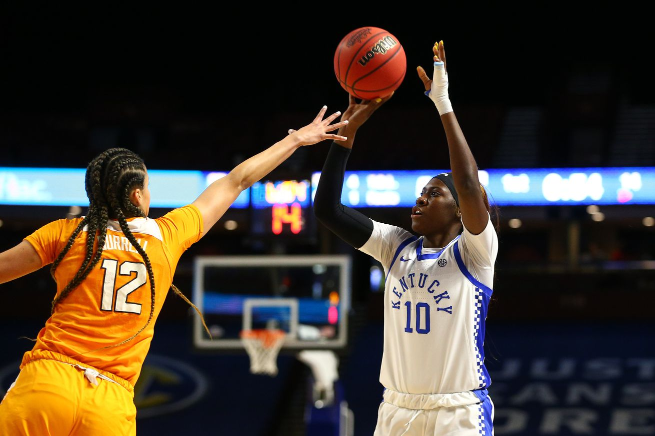 NCAA Womens Basketball: SEC Conference Tournament-Tennessee vs Kentucky
