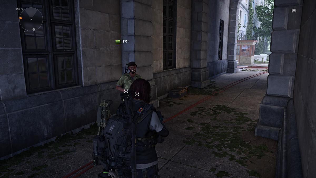 Unlock the secret vendor in The Division 2 - Polygon