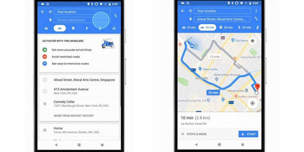 Google Maps brings motorcycle mode to Singapore, Thailand ... on midwestern usa map, auto usa map, american flag usa map, license plate usa map, hitchhiking usa map, palm tree usa map, ski usa map,