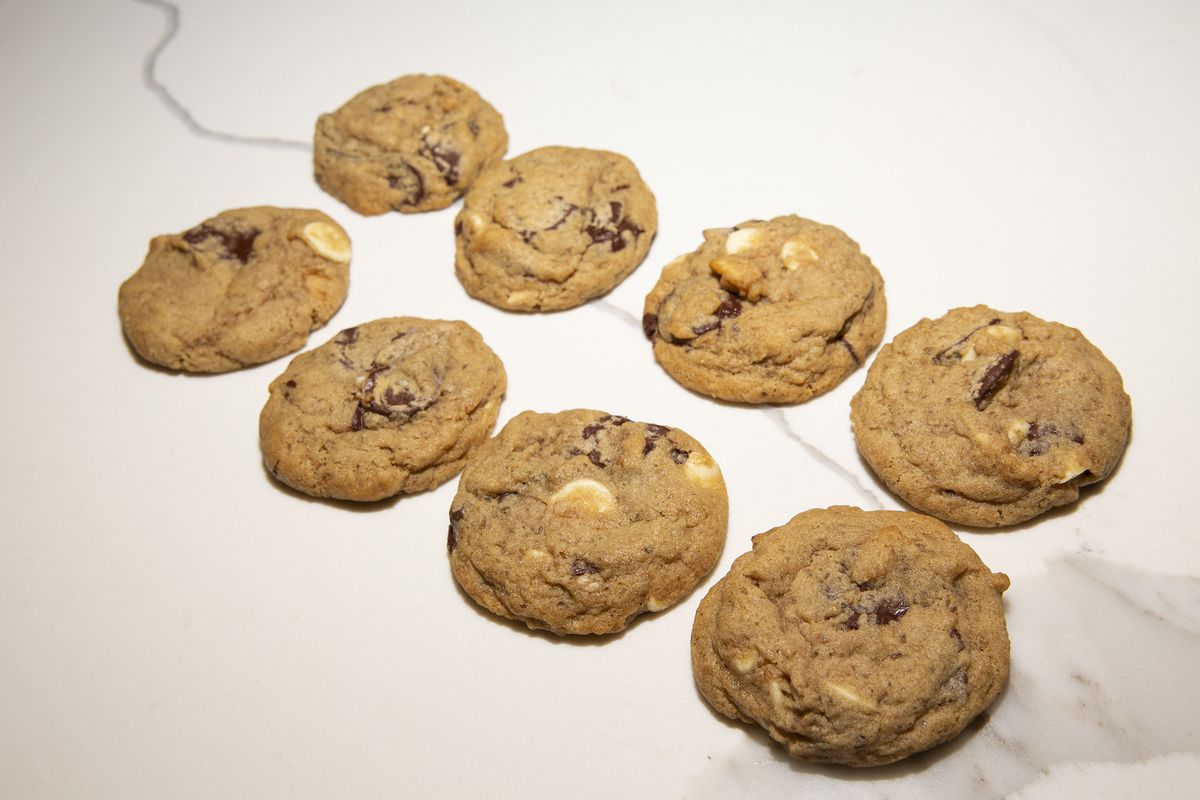 Take and bake chocolate chip cookies