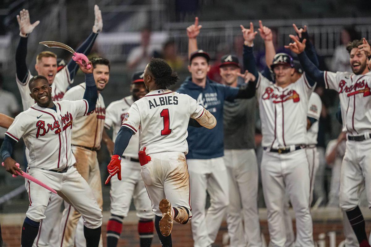 The Daily Chop: Braves atop NL East following Albies heroics Atlanta MLB -  Talking Chop