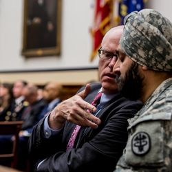On Jan. 22, 2014, Lt. Col. Kamal Singh Kalsi participated in a Congressional hearing on guidelines for religious accommodations in the military.