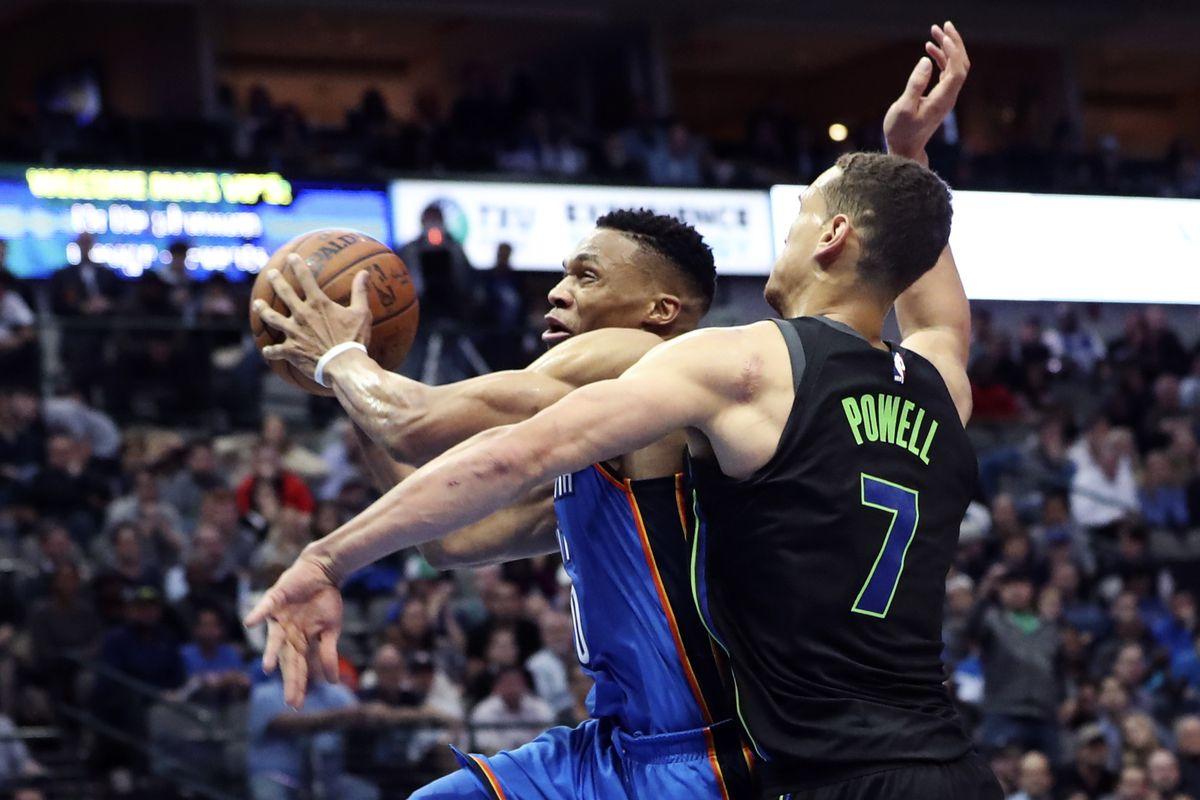 NBA: Oklahoma City Thunder at Dallas Mavericks