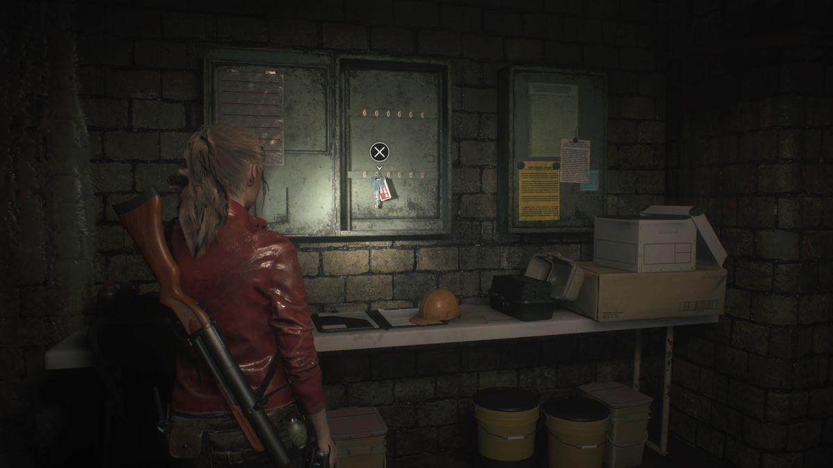 Resident Evil 2 Lower Waterway Sewers Key
