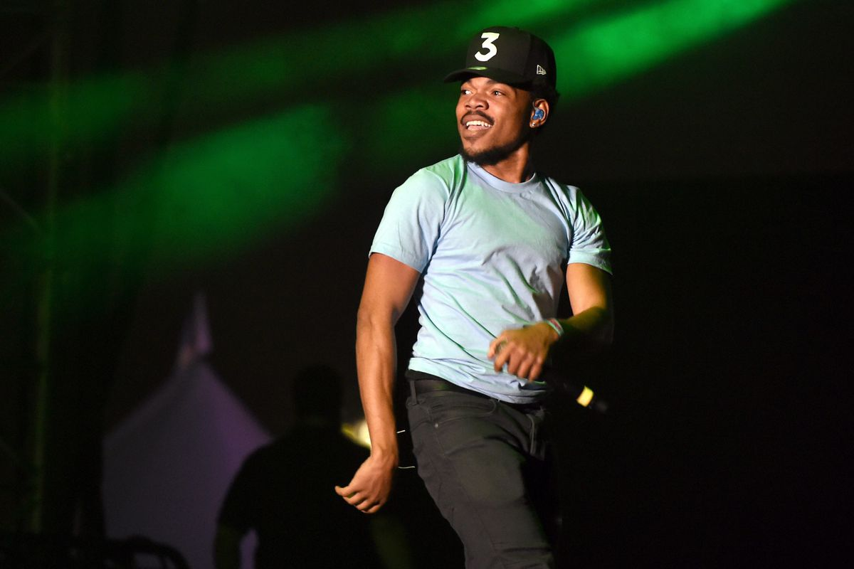 chance the rapper u0027s coloring book is the first streaming only