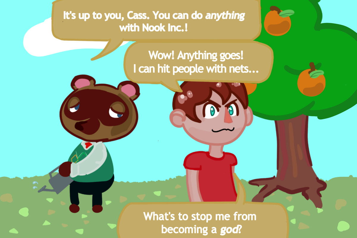 I'm the only one having fun on my Animal Crossing: New ...