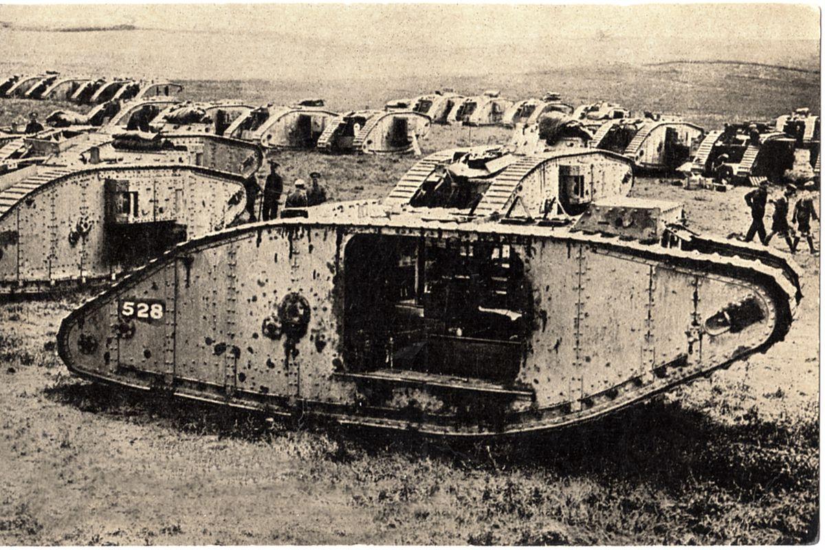 World War I Tanks Military