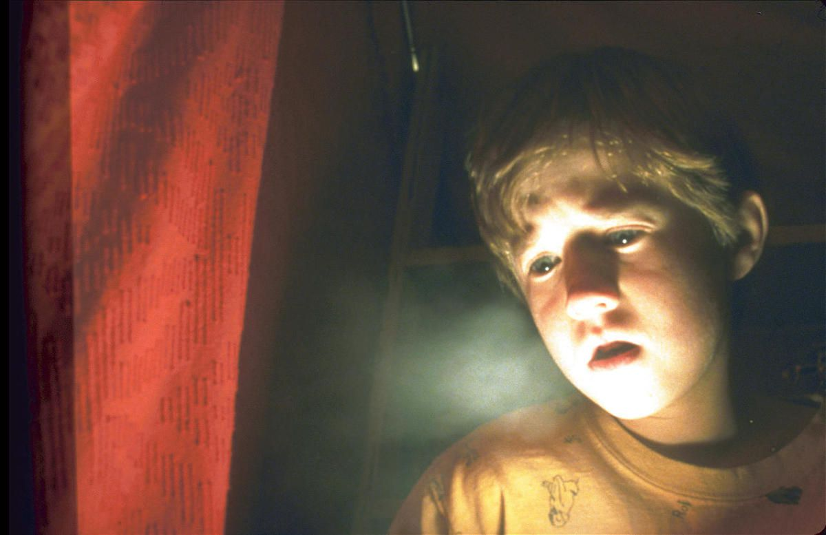 "Cole Sear (Haley Joel Osment) saw dead people in the 1999 chiller ""The Sixth Sense,"" from M. Night Shyamalan."