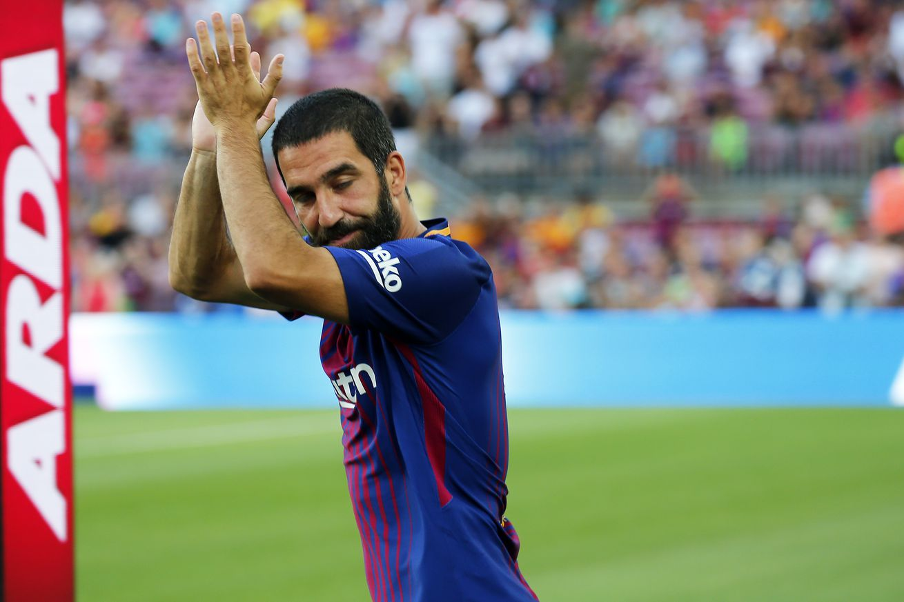 Arda Turan sends message to Barcelona fans after sealing exit