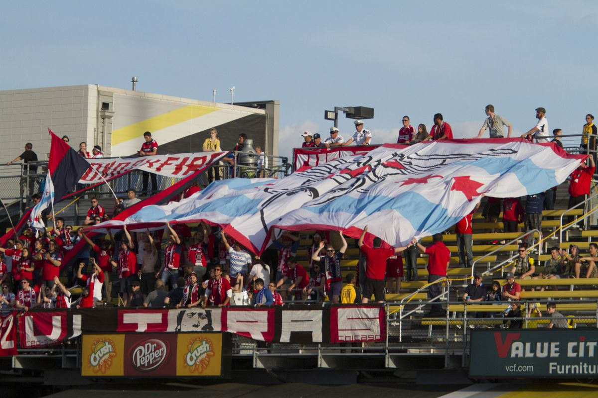 Chicago Fire Supporters in Columbus