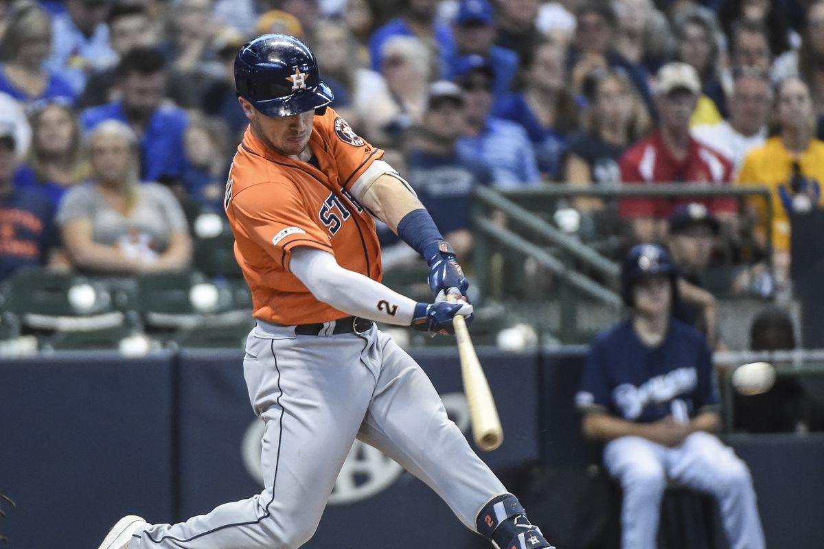 MLB: Houston Astros at Milwaukee Brewers