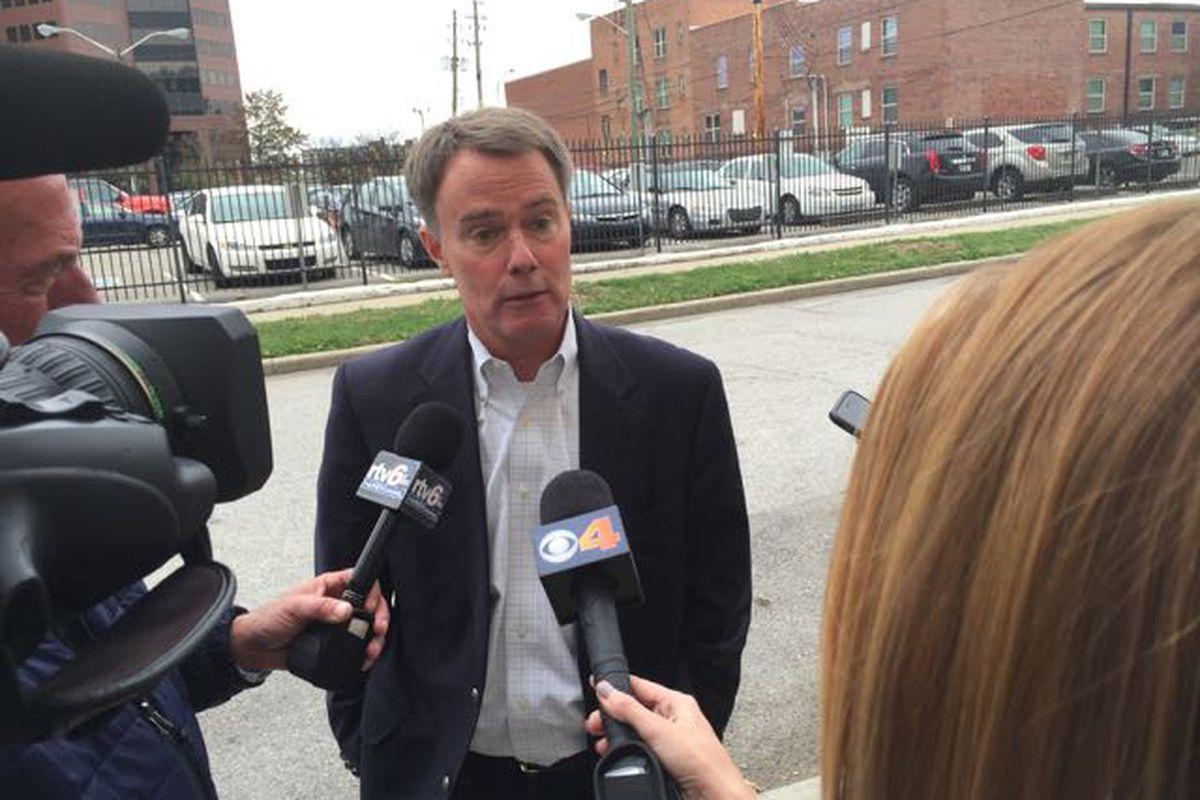 Indianapolis Mayor-elect Joe Hogsett won easily in Tuesday's election.