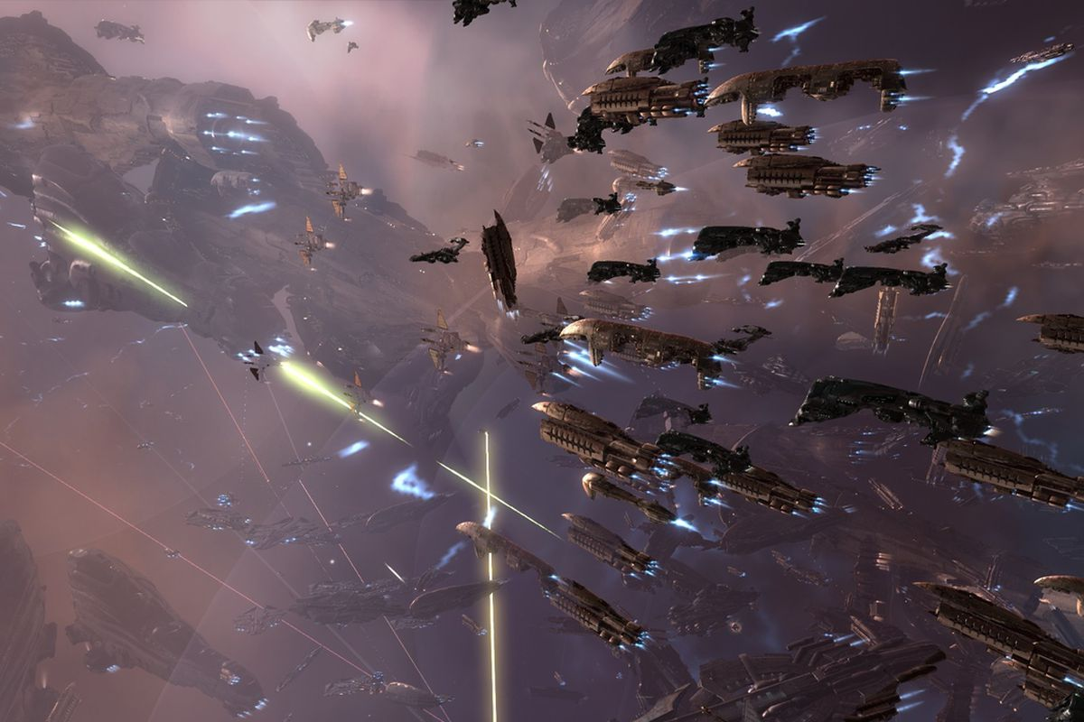 Largest Space Battle In History Claims 2900 Ships Untold Virtual