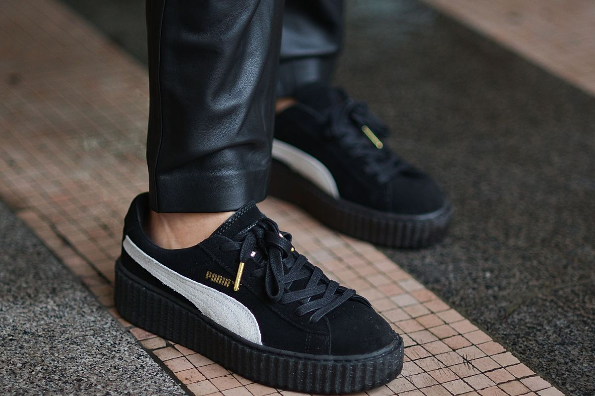 new product b3f84 ae8f7 Where to Buy Rihanna's New Puma Creepers, and Everything ...