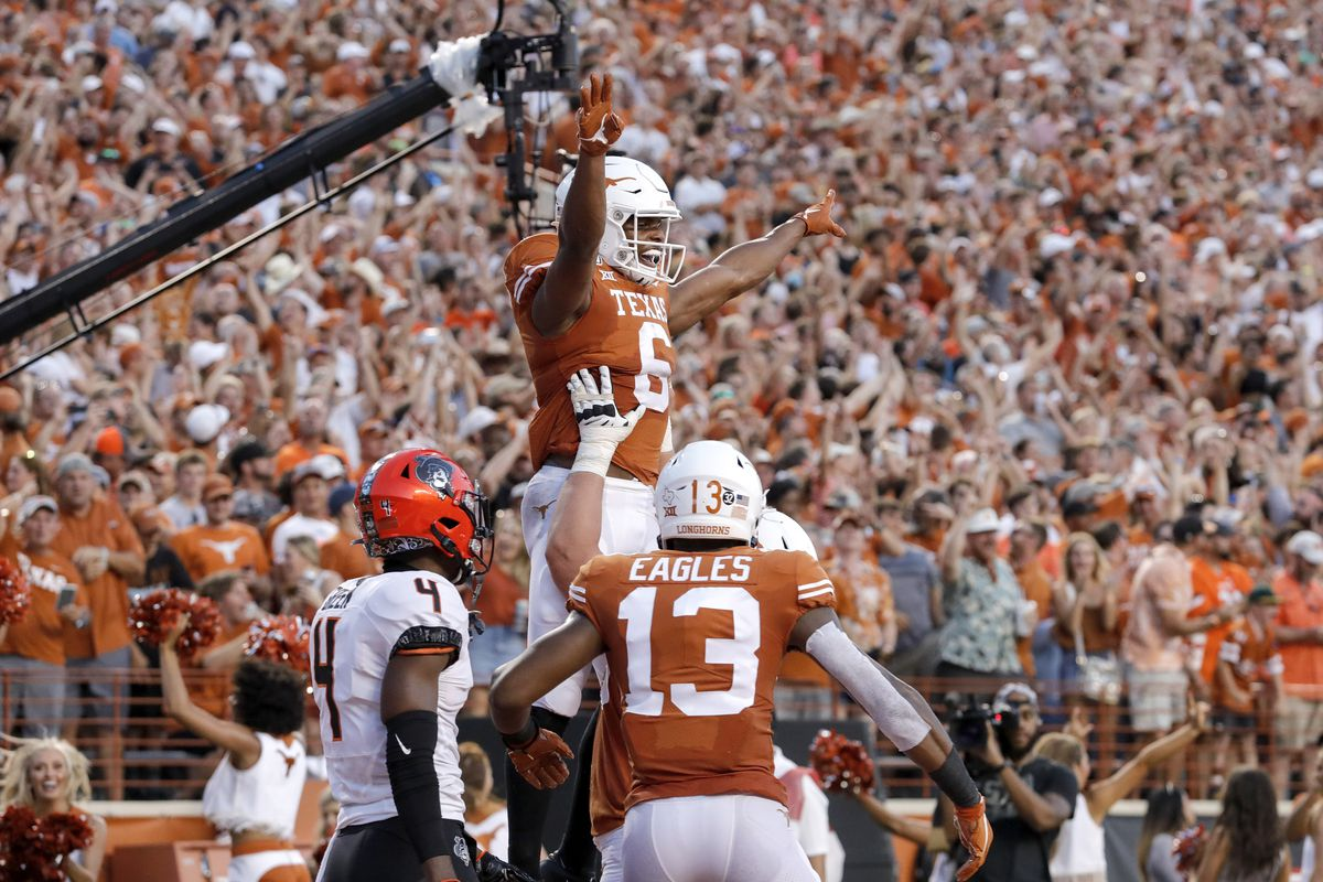 Texas (finally) beats Oklahoma State in Austin, 36-30: Post-game celebration thread