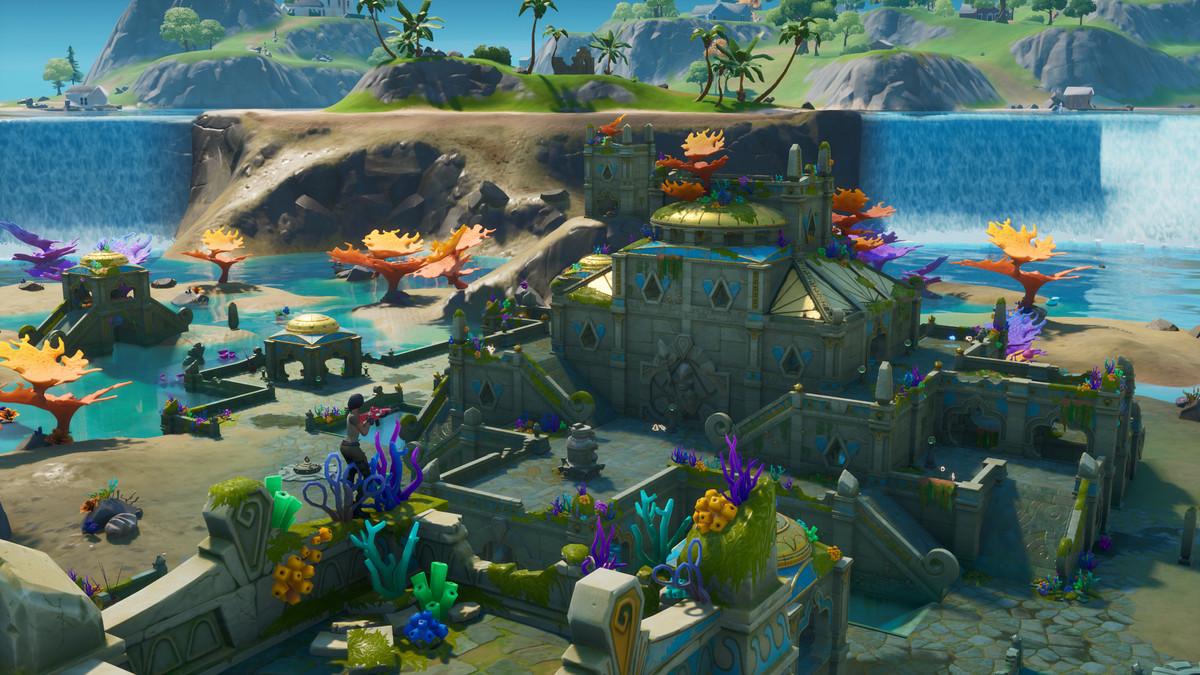 Coral Castle in Fortnite