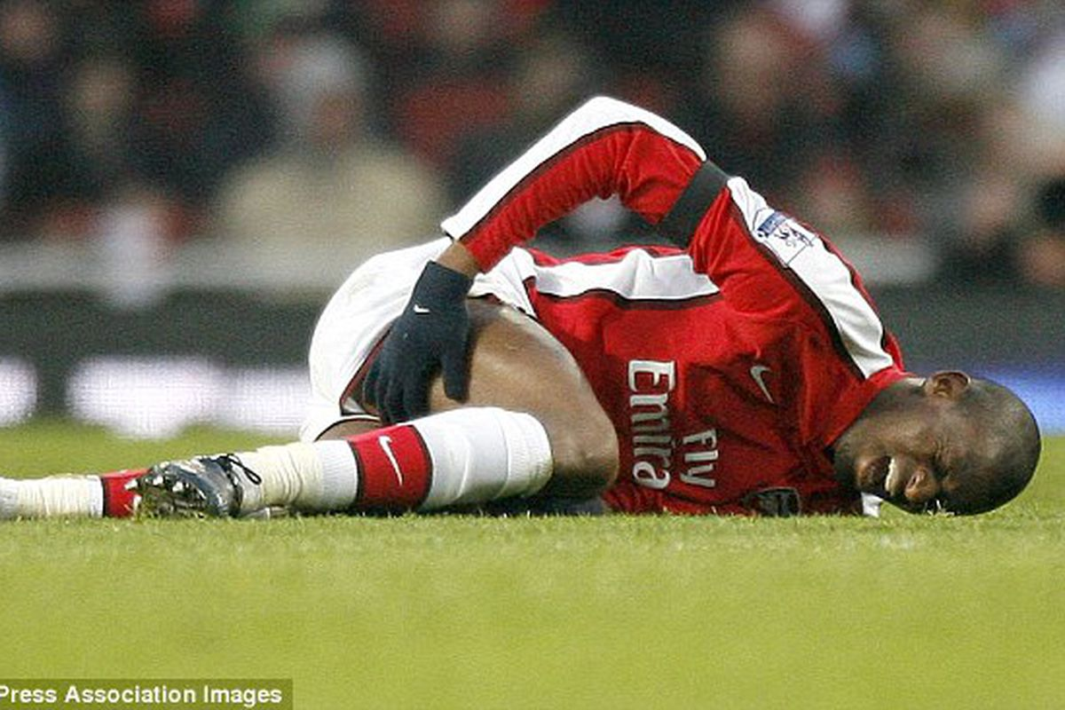 arsenal player review abou diaby the short fuse