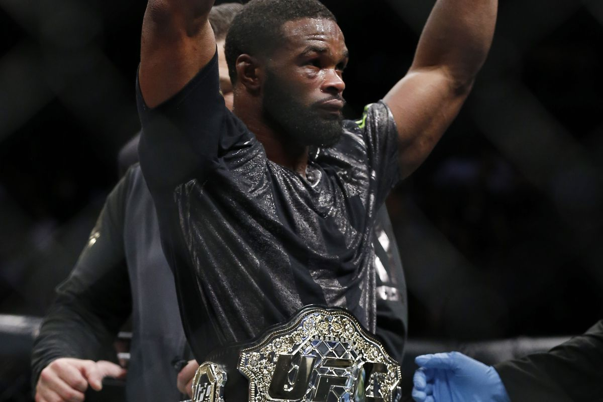 Woodley On Diaz Fight: 'He's A Bigger Draw Than Me'