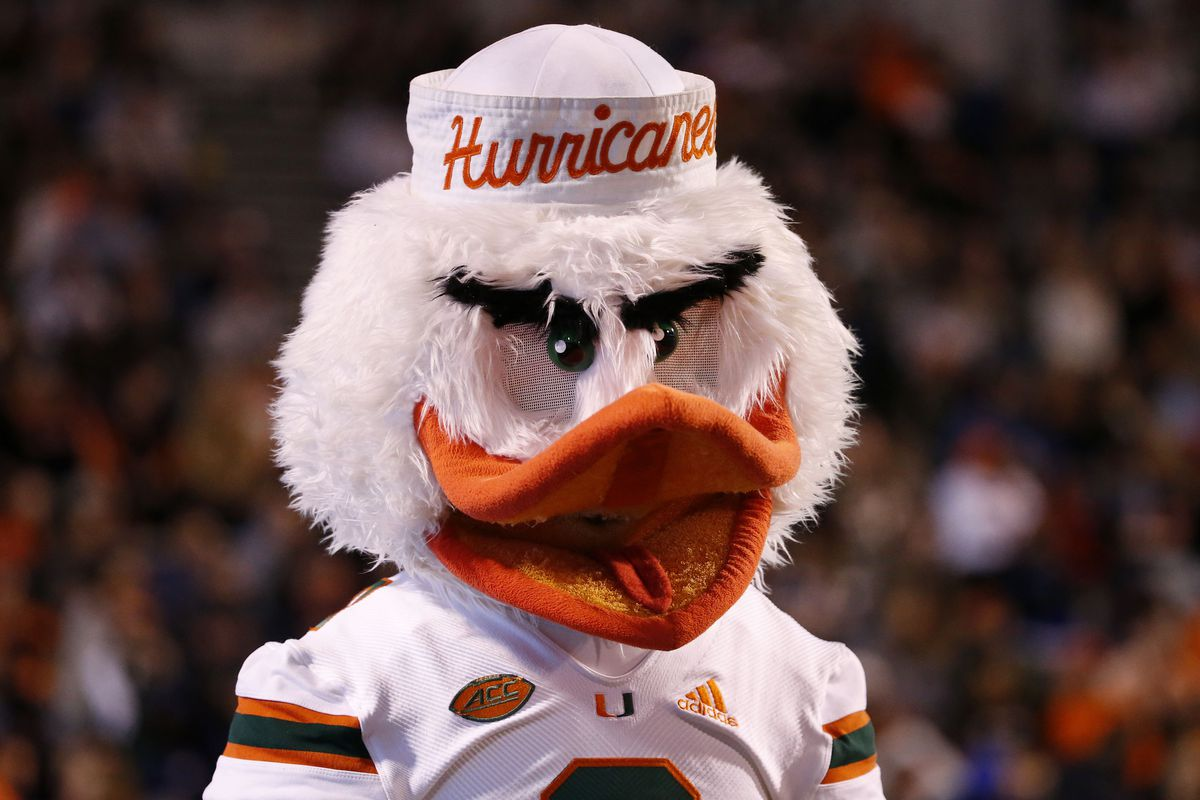 NCAA Football: Miami at Virginia