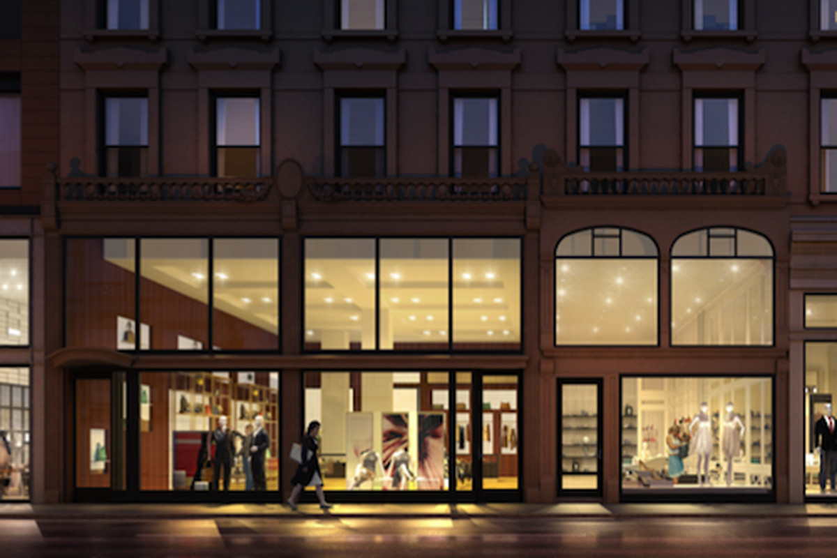 """Image via <a href=""""http://commercialobserver.com/2014/02/images-revealed-of-retail-space-next-to-whitney/"""">Commercial Observer</a>"""
