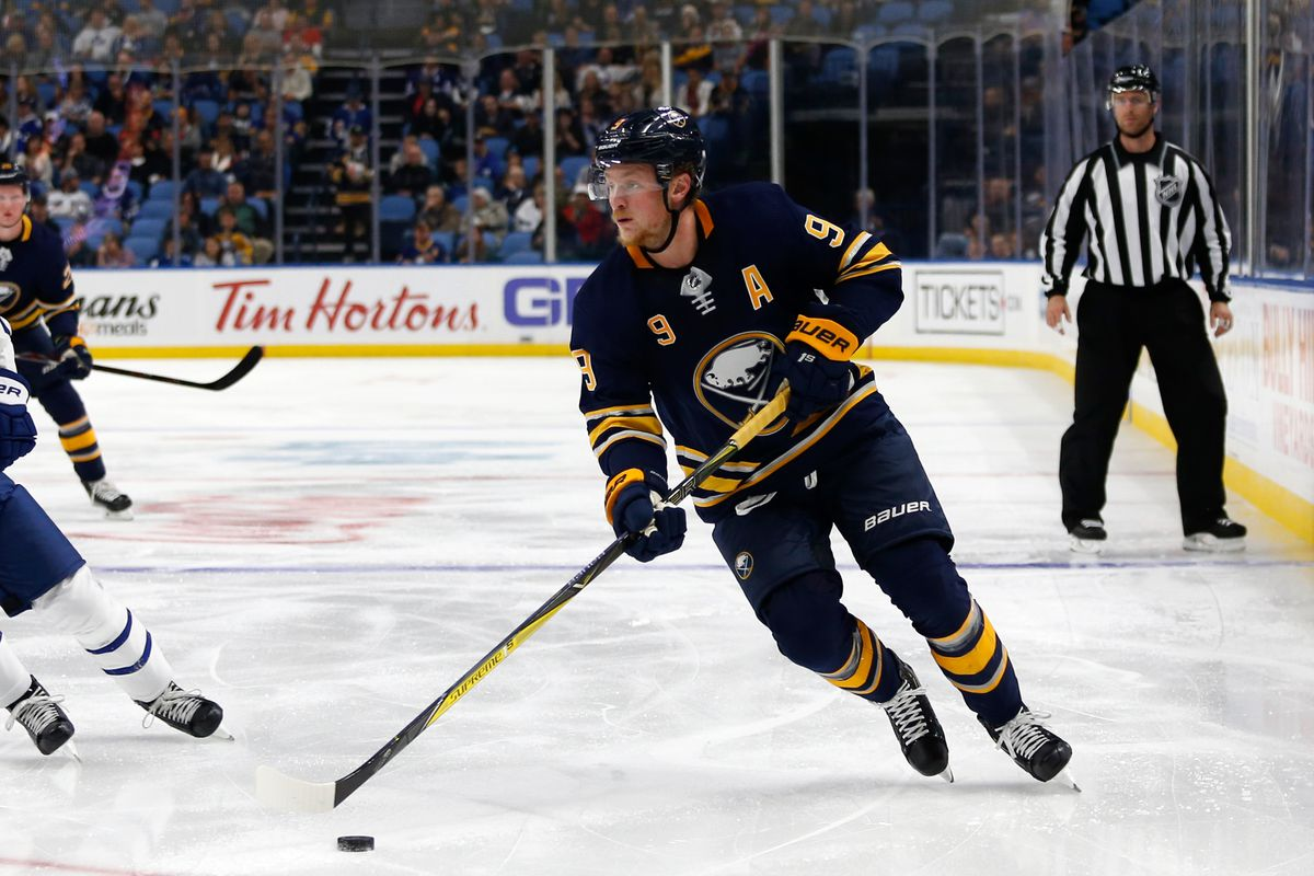 new styles 22df3 351a9 Buffalo Sabres Name Jack Eichel Captain - Die By The Blade