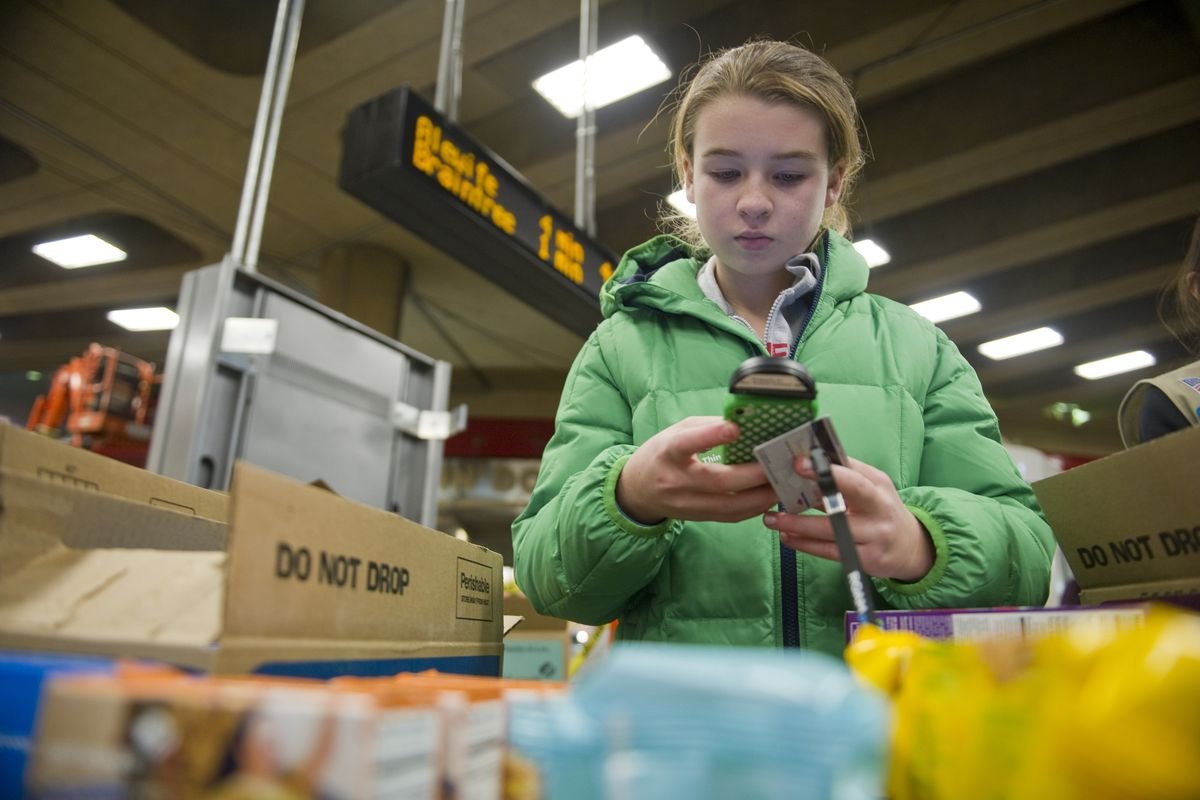 A changing financial world for students: Girl Scouts now accept credit cards for cookie sales.
