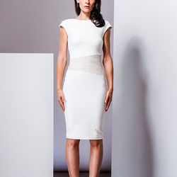 """""""It is all about the whites, on white, on white,"""" says Ferrin. """"Mixing textures and shades of white  within the same look is huge this season."""""""