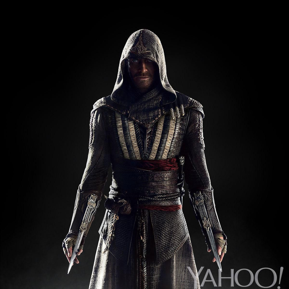 Fassbender in Assassin's Creed (source: Yahoo!)