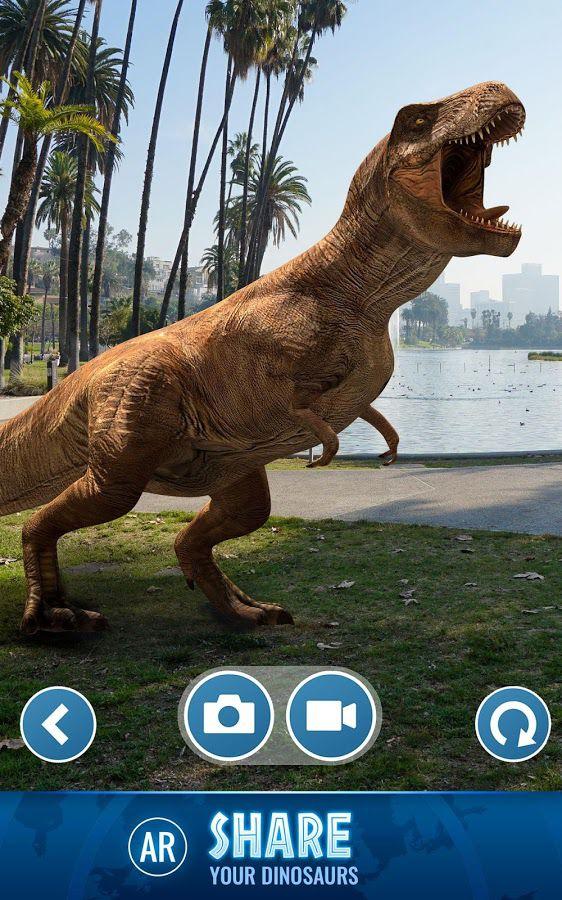 Jurassic World Alive is Pokémon Go but with dinosaurs - Polygon