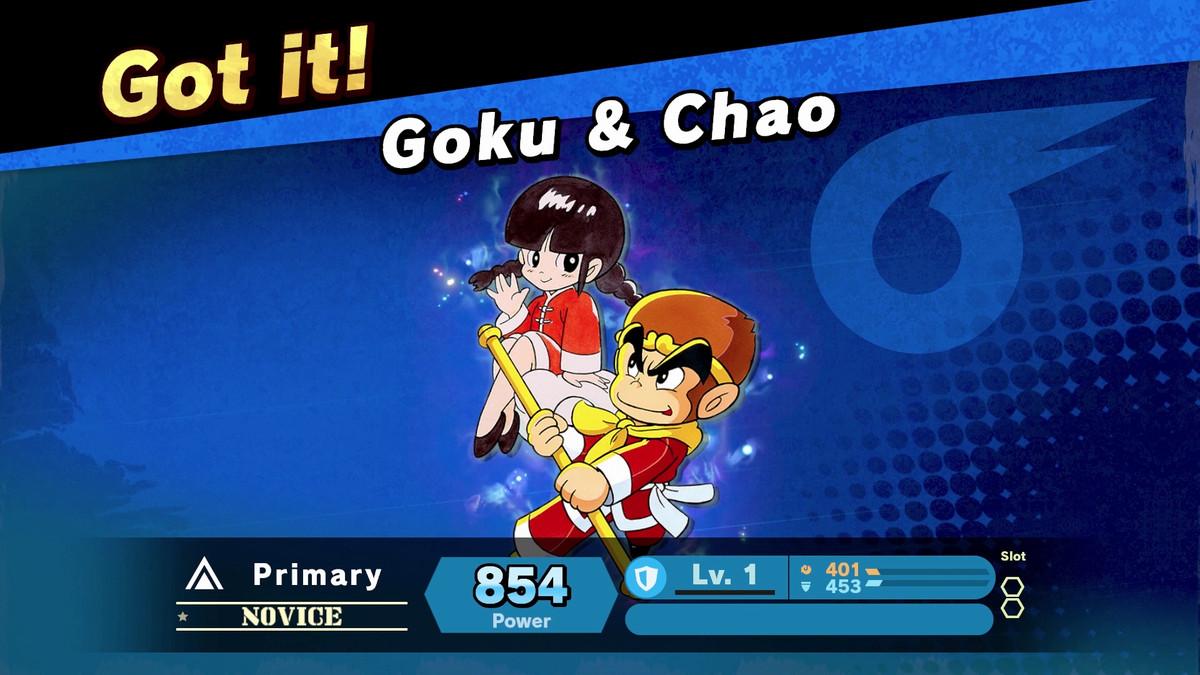 Goku in smash