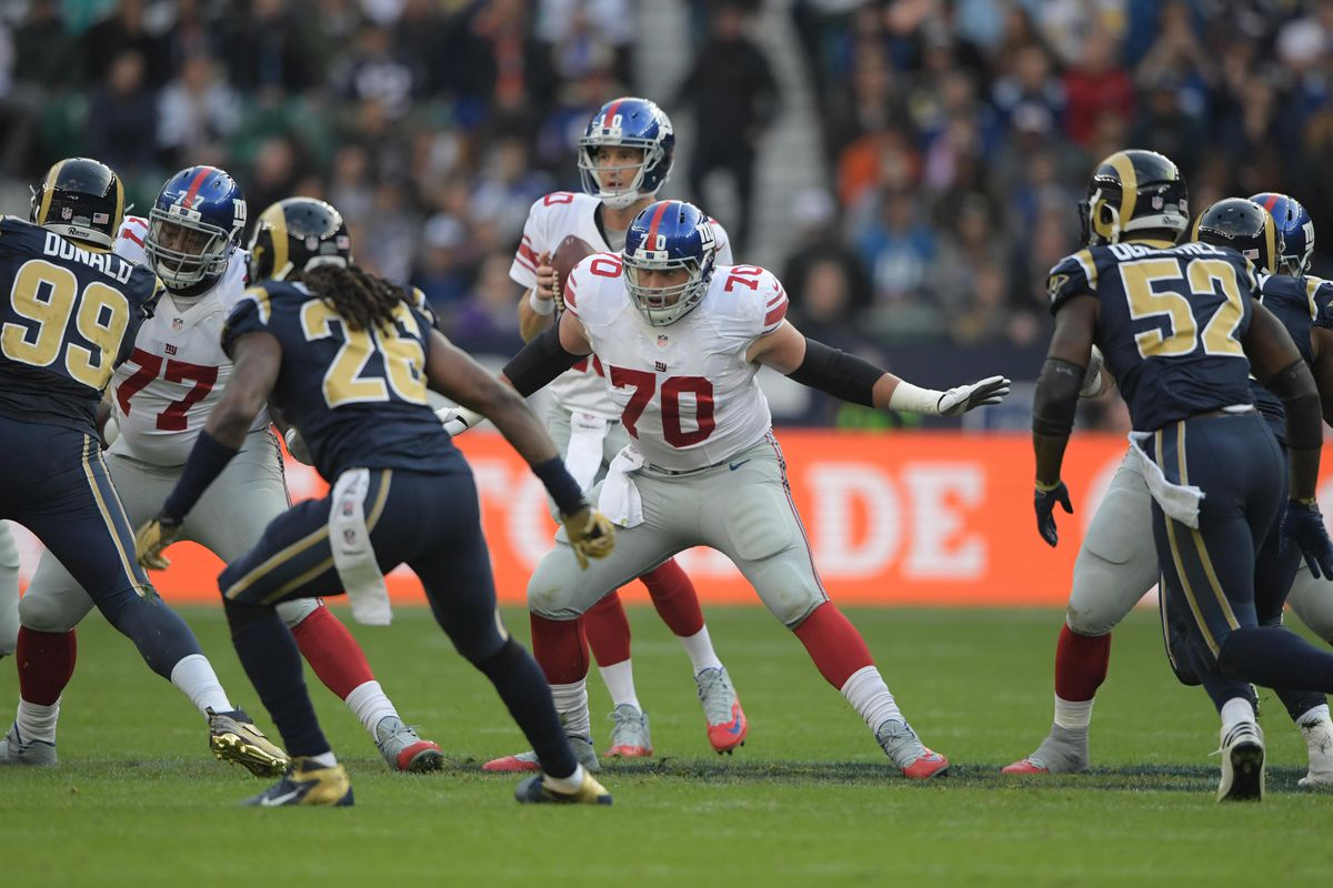 143ccb73c Weston Richburg Talks Offensive Line, Puts Football In Perspective ...